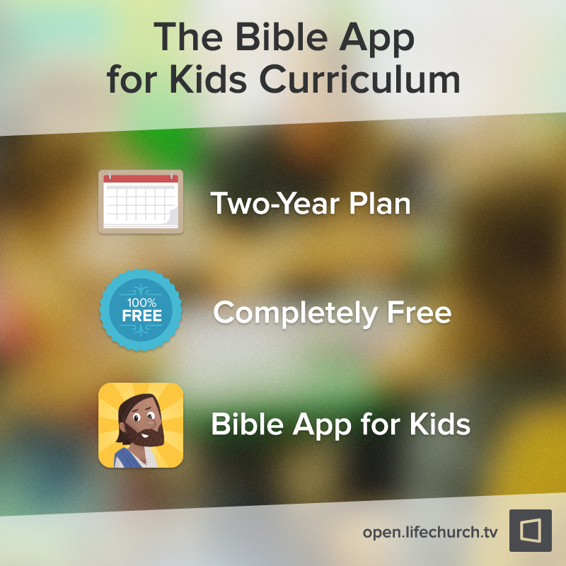 Bible App for Kids Curriculum | Open